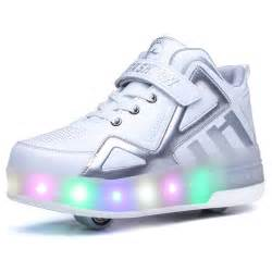 Light Up Skates Boys With Wheels Roller Shoes Heelys Girls Skate Shoes