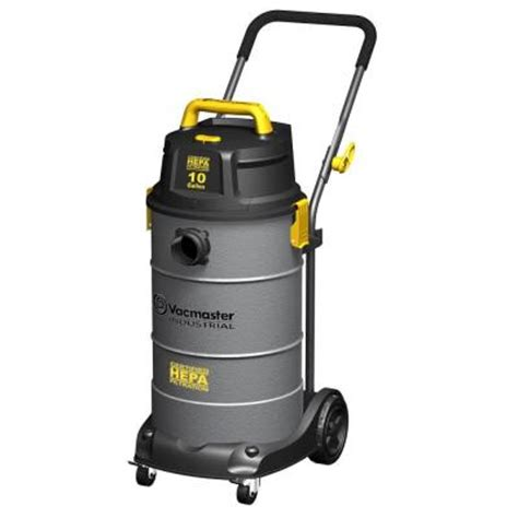 vacmaster 10 gal hepa industrial vacuum with 2 stage