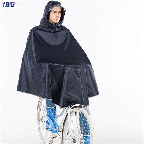 bike raincoat yuding rain poncho polyester bicycle thick raincoat