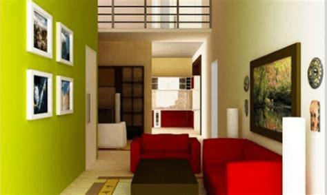 warna cat  cocok  ruang tamu desain rumah