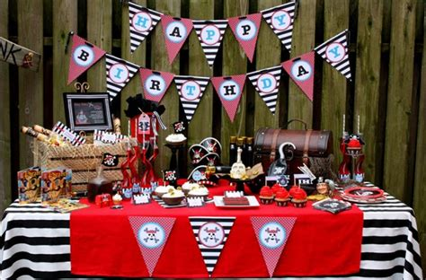 pirate themed birthday decorations pirate themed birthday ideas pirate themed birthday
