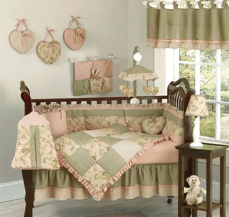 17 Best Images About Shabby Chic Baby Bedding On Pinterest Shabby Chic Crib Bedding Sets