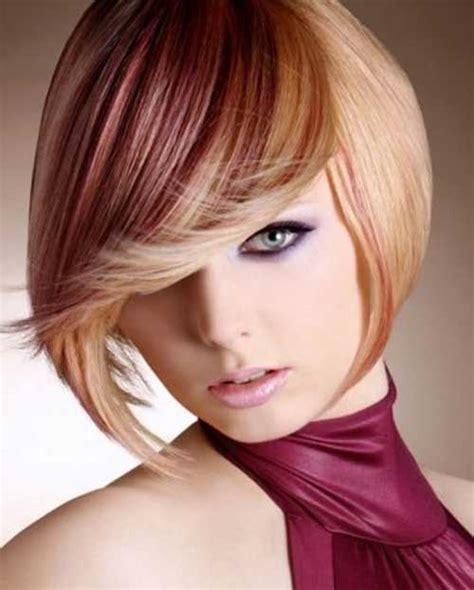 short hairstyles color streaks short hair color streaks the best short hairstyles for