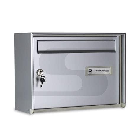 cassette postali esterno cassetta postale open air singola formato rivista silmec