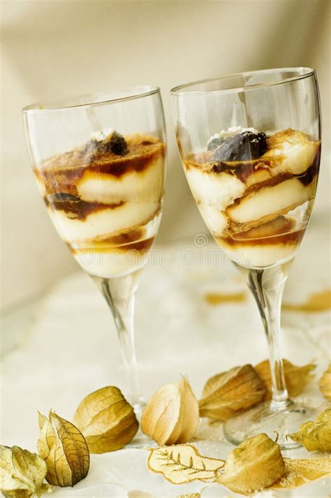 layer dessert in glass layered desserts in a glass stock image image of plums sweet 8895753