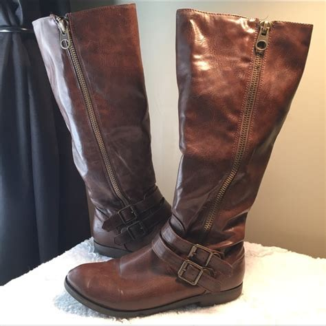 70 justfab shoes justfab brown boots from