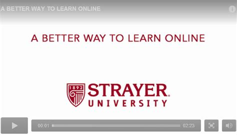 Strayer Mba Management by Strayer Offers Great Programs For The Busy