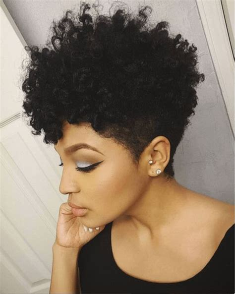 blow out on natural short black tapered tapered cut twist curl twists style and curls