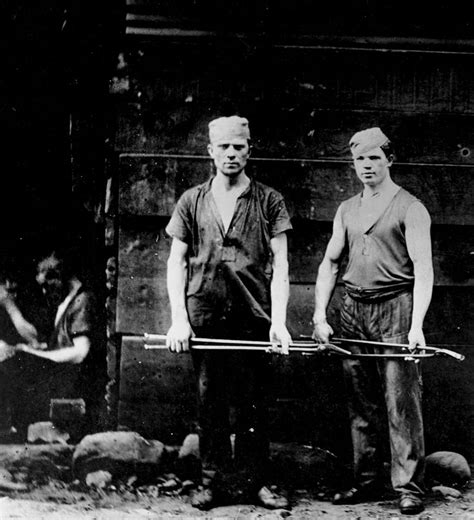 steel mill workers stock photos steel mill workers stock images alamy pgh steelworkers vintage dangers image of two steel workers pittsburgh steel
