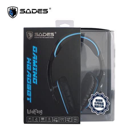 Headset Gaming 7 1 Sades Sa 901 Wolfang Garansi 1thn Murah Berk sades wolfang 7 1 sound channels usb gaming headset sades