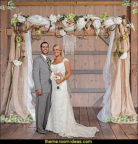Wedding Arch Couture by Decorating Theme Bedrooms Maries Manor Rustic Style