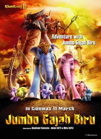 film thailand ulat biru love peace joy movie jumbo gajah biru