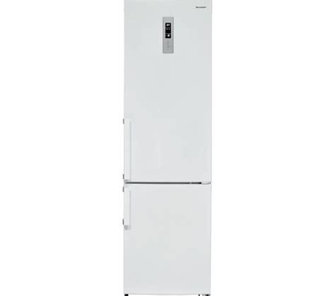 Freezer Sharp sharp sj b1330e1w en free fridge freezer white
