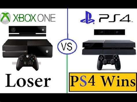 ps4 or xbox one better xbox one vs ps4 comparison doovi