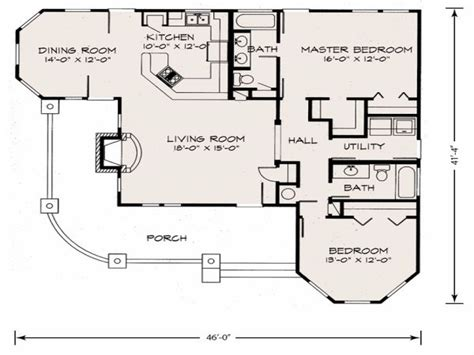 simple farmhouse floor plans cottage floor plan cottage floor plans with loft