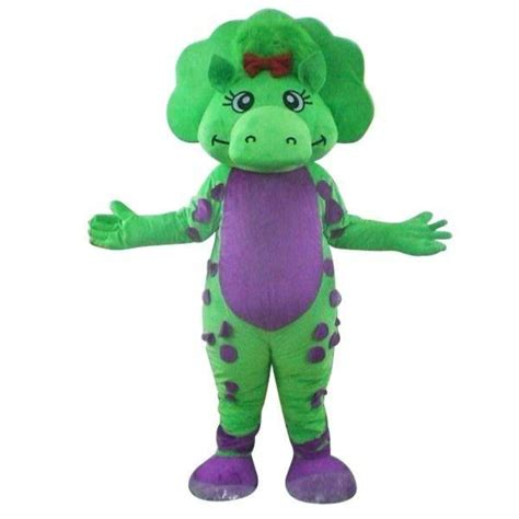 Bj 8586 Green Fresh Dress green purple bj barney fancy dress mascot costume nmj9o mascot costume tree mascot