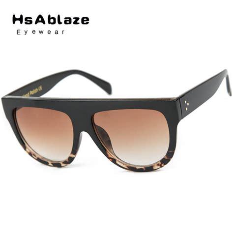 hsablaze eyewear luxury retro glasses rivets vintage
