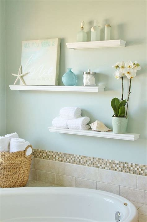Floating Shelves Bathroom 35 Floating Shelves Ideas For Different Rooms Digsdigs