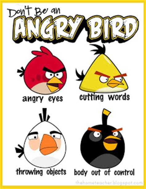 angry birds anger management worksheets free angry bird anger management lessons and printables