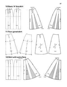 metric pattern cutting en español 8 trazo plano i ирина владимирова 193 lbuns da web do