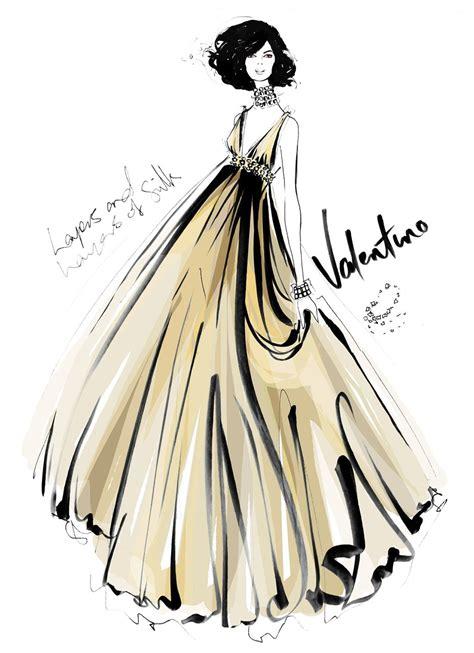 fashion illustration valentino the carousel