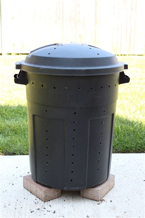 Decorative Compost Bin by The World S Catalog Of Ideas