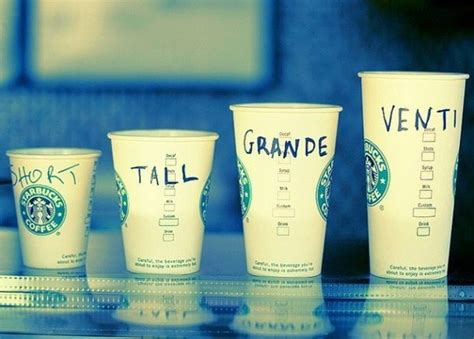 who made up the cup size names at starbucks and what if anything are these names significance