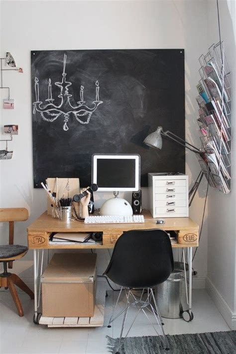 smart home decor ideas 32 smart chalkboard home office d 233 cor ideas digsdigs