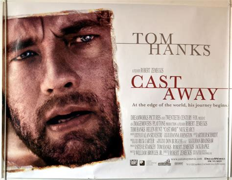 cast away song cast away original cinema movie poster from pastposters