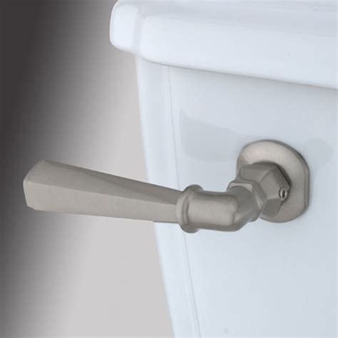 bathroom toilet handles satin nickel decorative hex tank lever modern toilet