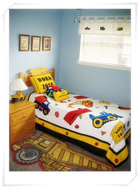 construction themed bedroom boys big boy rooms and good ideas on pinterest