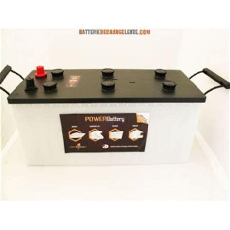 len mit batterie batterie decharge lente stationnaire 12v 160ah batterie
