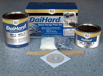Garage Floor Epoxy Paint Kits Daihard Epoxy Garage Floor Kit Gray