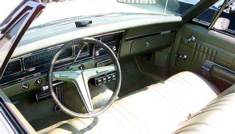 1968 impala interior 1968 impala ss427 interior details