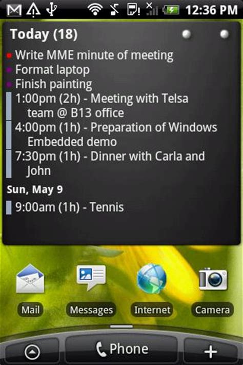 Calendar Widget For Android Calendar Widget Agenda Android Apps On Play
