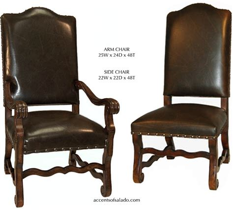 dining chairs old world all leather dining chairs