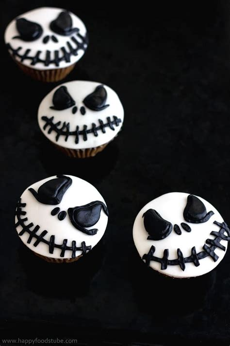 Skellington Cake Decorations by Skellington Cupcake Toppers Tutorial