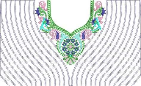 neck design in embroidery embdesigntube hot collection of neck embroidery design