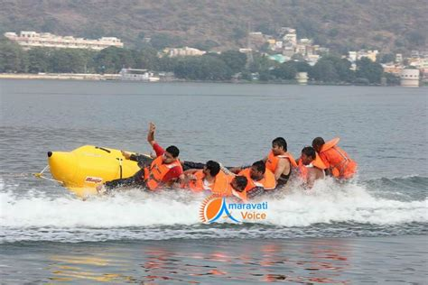 banana boat ride fall banana boat ride quot a new experience in bhavani island