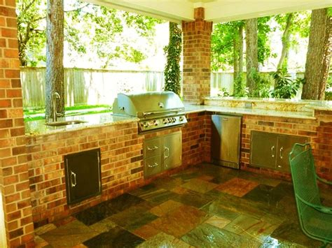Outdoor Kitchens Houston by Outdoor Living Spaces Gallery Houston Outdoor Kitchen