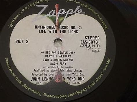 john lennon and yoko ono unfinished music no 1 two roots vinyl guide