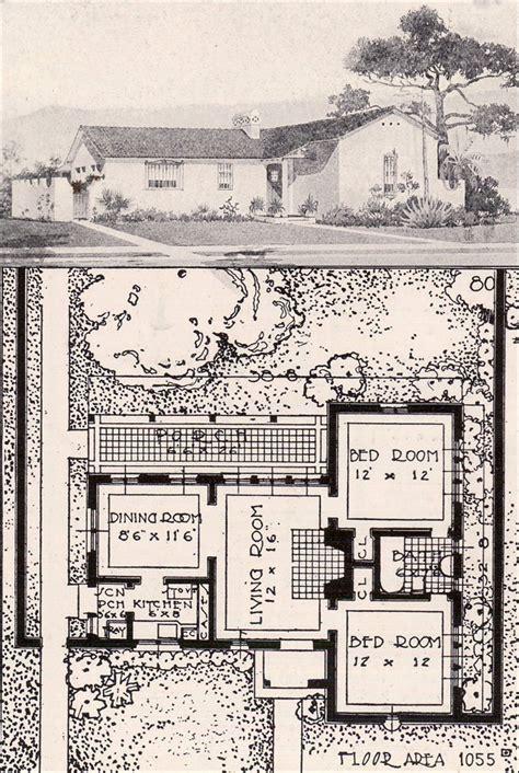 antique spanish house plans revival bungalow house plans