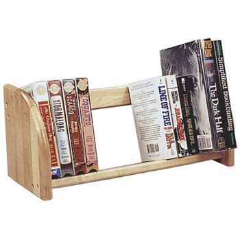 Countertop Book Display by Countertop Displays Economy Hardwood Book Rack