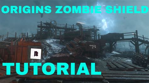 Zombie Shield Tutorial Black Ops 3 | call of duty black ops 3 zombies chronicles quot origins quot how