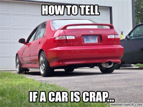 New Car Meme - shit car