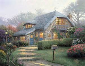 home interiors kinkade prints cottages