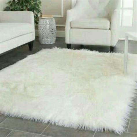 Karpet Bulu Putih jual beli kain bulu putih karpet bulu korea baru karpet lantai rumah murah lengkap