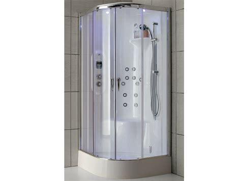 cabina doccia in cristallo cabina doccia multifunzione in cristallo e alluminio new