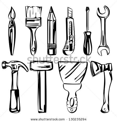sketch tool wooden cross sketch clipart panda free clipart images