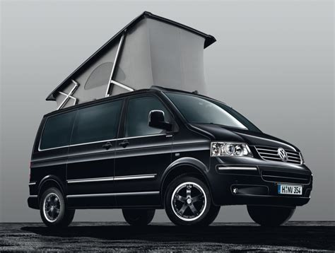 volkswagen black volkswagen california black edition launched in germany